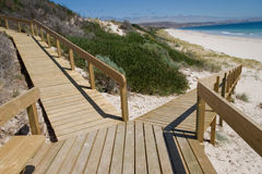 Ramp to the Beach Royalty Free Stock Photography