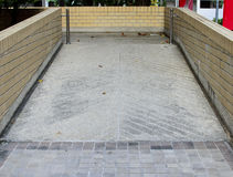 Ramp Way for Handicap. A photo of Ramp Way for Handicap. You can use a wheel chair here Royalty Free Stock Image