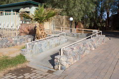 Ramp way for support wheelchair disabled people.Using wheelchair Royalty Free Stock Photo