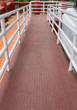 Ramp for wheelchair Stock Image