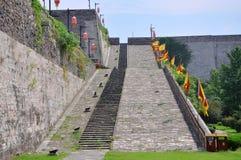 Ramp of Zhonghua Gate in Nanjing stock photos