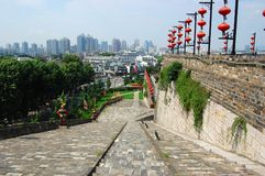 Ramp of Zhonghua Gate in Nanjing Stock Images