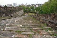 Ramp of Zhonghua Gate in Nanjing Royalty Free Stock Images