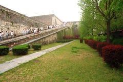 Ramp of Zhonghua Gate in Nanjing Royalty Free Stock Photos