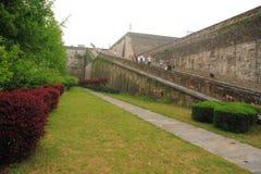 Ramp of Zhonghua Gate in Nanjing Stock Photo