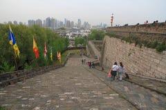 Ramp of Zhonghua Gate in Nanjing Stock Image