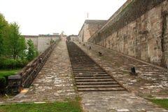Ramp of Zhonghua Gate in Nanjing Stock Photography