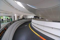 Rampa da entrada do Planetarium fotos de stock