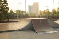 Rampa de Skatepark foto de archivo libre de regalías