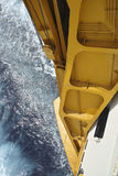 Rampa de un buque grande Foto de archivo libre de regalías
