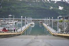 Rampa del barco Imagen de archivo libre de regalías