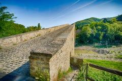 Rampa di singolo ponte della portata fotografia stock libera da diritti