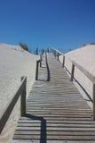 Rampa a la playa Foto de archivo libre de regalías
