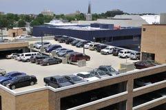 Rampa llena del estacionamiento Fotos de archivo
