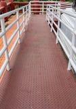 Rampa para la silla de ruedas Imagen de archivo