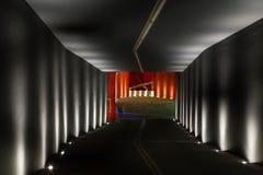 Rampa a um estacionamento subterrâneo Imagem de Stock Royalty Free
