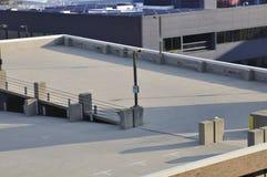 Rampa vacía del estacionamiento Imagen de archivo libre de regalías