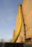 Rampa Waste da construção Fotografia de Stock