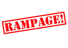 RAMPAGE! Royalty Free Stock Photos