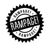 Rampage rubber stamp Royalty Free Stock Photo