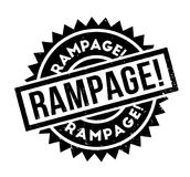 Rampage rubber stamp Royalty Free Stock Photography