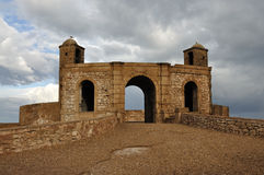 Rampart in Essaouria, Morocco Royalty Free Stock Images