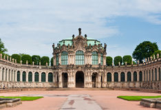 Rampart Pavilion in Zwinger Palace, Dresden royalty free stock photography