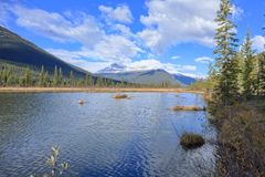 Rampart Pond Royalty Free Stock Images