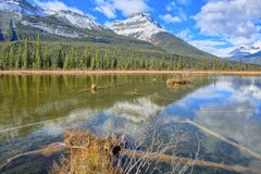 Rampart Pond Royalty Free Stock Photography
