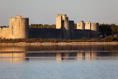Ramparts of Aigues-Mortes, France Royalty Free Stock Photography