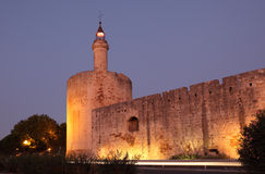 Ramparts of Aigues-Mortes, France Royalty Free Stock Image