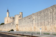 Ramparts of Aigues-Mortes, France Stock Photo