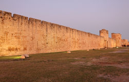Ramparts of Aigues-Mortes, France Stock Image