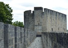 Ramparts of Aigues-Mortes Royalty Free Stock Image