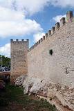 Ramparts of Alcudia, Majorca Stock Photos