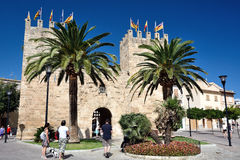 Ramparts of Alcudia, Majorca Stock Images
