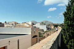 Ramparts of Alcudia, Majorca Royalty Free Stock Photography