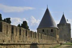 ramparts carcassonne Стоковые Изображения RF