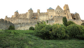 Ramparts of Carcassonne, France Royalty Free Stock Image