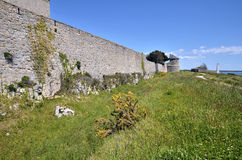 Ramparts citadel of Port-Louis in France Stock Photography