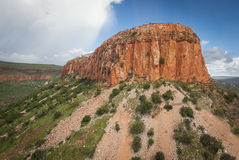 Ramparts on the Cockburn Range, Kimberley, Western Australia. The Cockburn Range near Wyndham is normally photographed from the Gibb River Road where it crosses royalty free stock photography