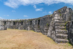 Ramparts of fortification Stock Photo