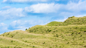 Ramparts of Iron Age fort on Battlesbury Hill, Wiltshire, UK Royalty Free Stock Photography