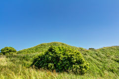 Ramparts of the Jaromarsburg. At the Cape Arkona on Rugen Stock Photography