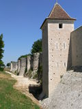 Ramparts, Provins ( France ) Stock Photo