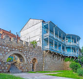 The ramparts of Tbilisi Stock Photography