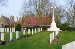 Ramparts World War One Commonwealth War Cemetery Royalty Free Stock Images
