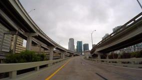 Rampas céntricas de la carretera de Miami metrajes
