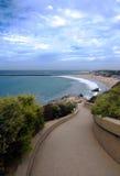 Rampe à la plage Photos libres de droits