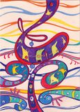 rampe abstraite d'imagination Images libres de droits